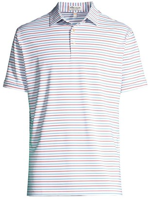 Peter Millar Stripe Jersey Polo