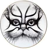 Rory Dobner Kabuki Cat Fine Bone China Bread Plate