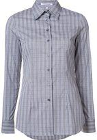 Walter Voulaz - plaid shirt - women - Cotton/Polyamide/Spandex/Elastane - 46