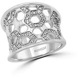 Effy 925 Sterling Silver and Diamond Ring