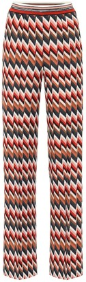 Missoni Chevron-knit pants