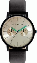 Ted Baker Men's 10024529 Classic Analog Display Japanese Quartz Black Watch