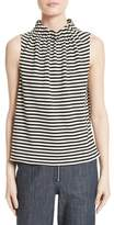 Tibi Women's Ren Stripe Top