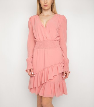 New Look Gini London Frill Shirred Waist Dress