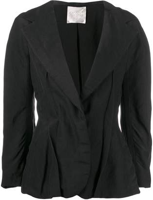 Lanvin Pre-Owned 2006's pleated details fitted jacket