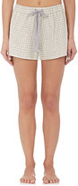 Castle & Hammock Women's Plaid Cotton Pajama Shorts