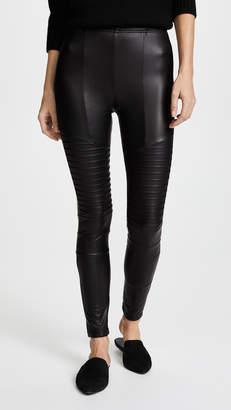 Plush Fleece Lined Liquid Moto Leggings