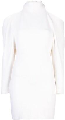 Proenza Schouler Open Back Short Knitted Dress
