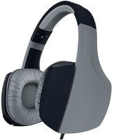 Sharper Image Black/Grey Bass-Boosting Stereo Headphones