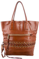 Marc Jacobs Leather Whipstitched Tote