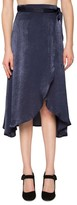 Willow & Clay Women's Satin Wrap Skirt