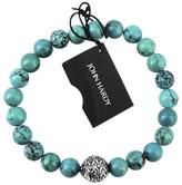 John Hardy 925 Sterling Silver Bedeg Turquoise Beads Bracelet