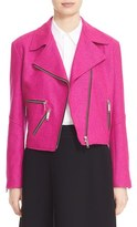 Public School Women's Wool Blend Moto Jacket