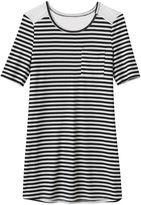 Mudd Girls 7-16 Crochet Swing T-Shirt Dress