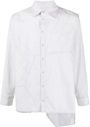 Koché Hexagone oversized shirt