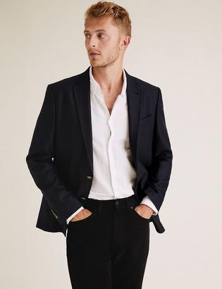 Marks and Spencer Big & Tall Regular Fit Italian Wool Blazer