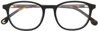 Carrera Tortoiseshell Effect Curved Glasses