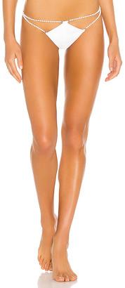 MONICA Hansen Beachwear Pearl Detailed Bikini Bottom