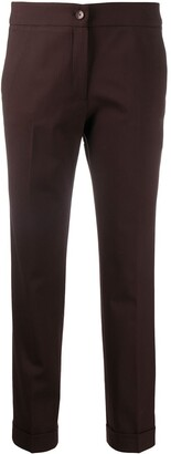 Etro Slim-Fit Cropped Trousers