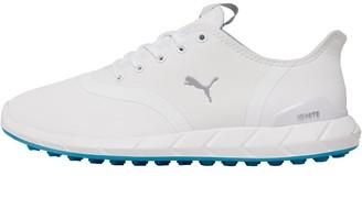 Puma Womens Ignite Statement Low Golf Shoes White/Quarry