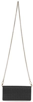 Bottega Veneta Intrecciato Leather Wallet on a Chain