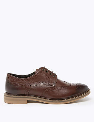Marks and Spencer Leather Trisole Brogues