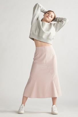 Thakoon High Waisted Slip Skirt Blush
