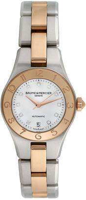 Heritage Baume & Mercier Baume & Mercier 2000S Women's Linea Luxury Style Diamond Watch