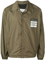 Maison Margiela Stereotype patch shirt jacket
