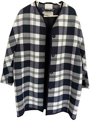Hobbs Navy Cotton Jacket for Women