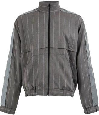 Andrea Crews striped Pinjac jacket