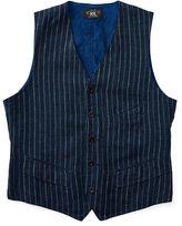 Ralph Lauren RRL Striped Linen Vest