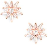 Sole Society Sunburst Stud Earrings