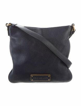 Marc by Marc Jacobs Leather Crossbody Bag Blue