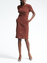 Banana Republic Suede Dress