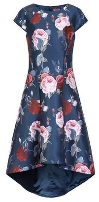 Dorothy Perkins Womens *Chi Chi London Floral Printed Dip Hem Dress
