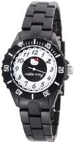 Hello Kitty Women's H3WL1004BK Black Dial Watch