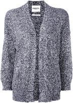 Essentiel Antwerp - marble knit cardigan - women - Cotton/Polyamide/Polyester - XL