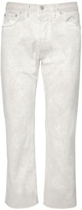 Maison Margiela 21.5cm Marble Wash Denim Cotton Jeans