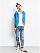 Hush Basket Stitch Knitted Jacket