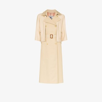 Tiger In The Rain Layered Trench Coat