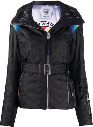 Rossignol Rainbow zip-up ski jacket