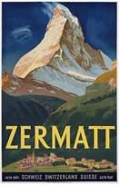 Art.com Zermatt Poster by Carl Moos Giclee Print - 91x137 cm