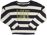 Zadig & Voltaire Love Embellished Striped Cotton Sweater