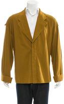 Haider Ackermann Deconstructed Shirt Jacket