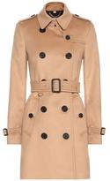 Burberry Kensington wool-blend trench coat