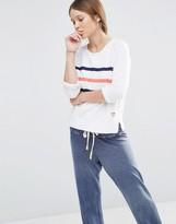 Sundry Stripe Sweatshirt
