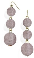 BaubleBar Women's Shimmer Crispin Drop Earrings