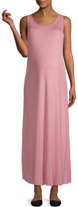 PLANET MOTHERHOOD Planet Motherhood-Maternity Sleeveless Maxi Dress