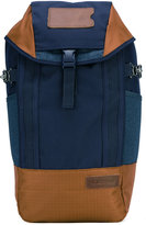 Eastpak colour-block backpack - men - Leather/Polyester - One Size
